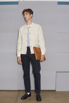 See the complete A.P.C. Spring 2016 Menswear collection.