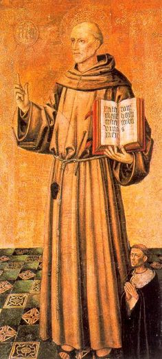Fray Bernardino de Siena. Joan Reixach. Fernanda Dichi.