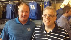 John Short meets Coach Mark Stoops on the KSR Tour and told him UK would go 14-0