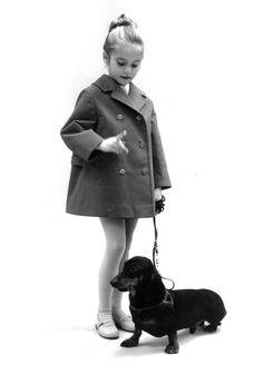 Little girl and her dog in Reima ad. Did you know, that Reima started exporting to the East and opened a sales office in Sweden already in the ? Sales Office, Family Kids, Fashion Editor, Animals For Kids, Finland, Sweden, Little Girls, 1960s, Stylish