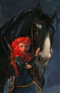 Disney Fine Art Willful Daughter by Jim Salvati $450 www.biggsltd.com 1-800-362-0677