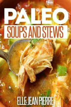 Paleo Soups And Stews: Gluten Free Soups And Stews For Busy Families. (Simple Paleo Recipe Series) by Elle Jean Pierre, http://www.amazon.com/dp/B00GM8X8IK/ref=cm_sw_r_pi_dp_K6iIsb0FF2GNY