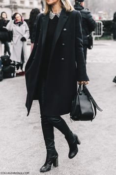 Street Style Paris Couture III | Collage Vintage