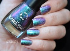 Dance Legend 'Milky Way' - very similar to - Hits Mari Moon Holografico 'Super Cute' (and the non-holo version multichrome 'Cutie Pie'')
