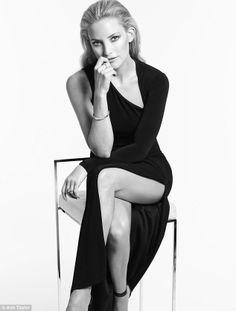 Kate Hudson's line of little black dresses for Ann Taylor