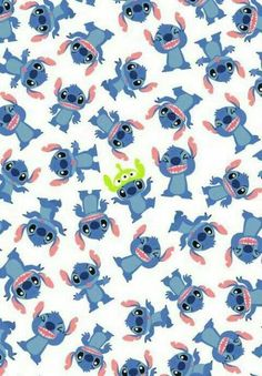 Stitch Wallpaper so cutee