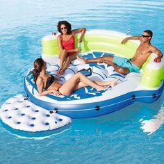 5 Ft. Pools & Spas Reasonable Coconut Float Pool Floats; Jumbo Pelican Inner Tube