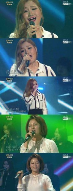 Son Seung Yeon teams up with her mom on 'Immortal Song 2' | http://www.allkpop.com/article/2015/05/son-seung-yeon-teams-up-with-her-mom-on-immortal-song-2
