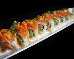 Double Spicy Salmon ! http://harumisushi.com