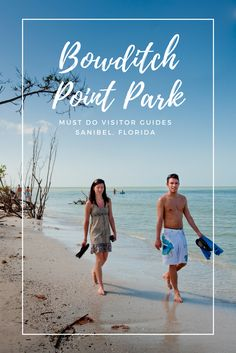 Bowditch Point Park encompasses the entire end of Estero Island in Fort Myers, Florida - (17 acres) and has shoreline on both the Gulf of Mexico and the back-bay, or Matanzas Pass. #florida