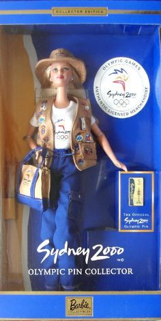 Sydney Olympic Pin Collector 2000 Barbie Doll for sale online Australia Olympics, 2000 Olympics, Barbie Collector, The Collector, Barbie Dolls For Sale, The Munsters, Yesterday And Today, Olympic Games, Fashion Dolls