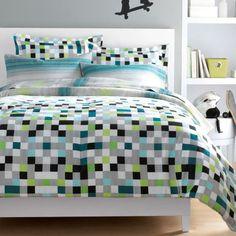 My stuff®/MD 'Pixel' Reversible Comforter Set - Sears | Sears Canada