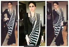 Fashion Police: Kareena Kapoor Wore Her Saree NOT With A Blouse But With A…