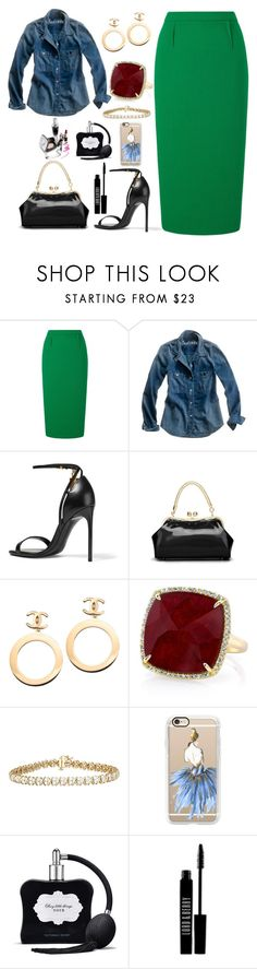 """Untitled #2249"" by swc0509 ❤ liked on Polyvore featuring Roland Mouret, Madewell, Tom Ford, Chanel, Anne Sisteron, Casetify, Victoria's Secret and Lord & Berry"