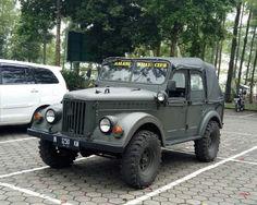 Dijual Jeep Militer Klasik Bin Gahar