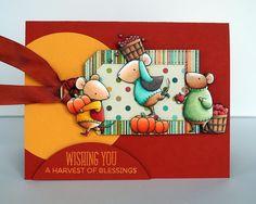 Kara Lynne's Card Designs: Tripping over Pumpkins