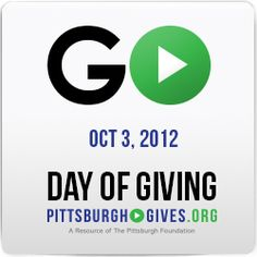 Today is Pittsburgh's Day of Giving 2012! Please consider donating to a favorite non-profit (psst...we are non-profit)! Learn more here: http://pittsburghfoundation.org/node/24463