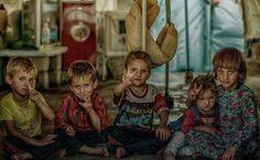 Yazidi Refugee Children. ➡ https://m.facebook.com/childrenofthesunyezidis/?refid=13