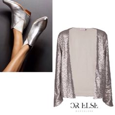 It's time to shine!✨ Blazer de paillettes plata disponible en www.orelse.es #orelsebarcelona #paillettes #blazer #shine