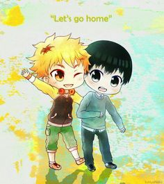 ∆ Tokyo Ghoul ∆ 'Let's go home' ~ Hide and Kaneki ∆