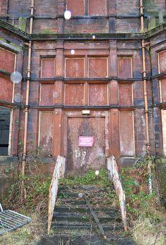 Gartloch Lunatic Asylum, Scotland. 1889-1996. Abandoned Prisons, Old Abandoned Buildings, Abandoned Mansions, Old Buildings, Abandoned Places, Insane Asylum, Mental Asylum, Abandoned Hospital, Haunted Places