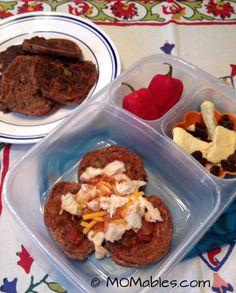 Lunchbox Black Bean CornCakes