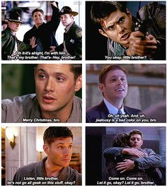 "Dean calling Sam ""brother"" [gif set]"
