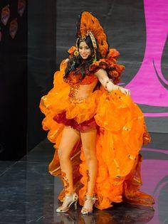 Мисс Вселенная 2013: национальные костюмы участниц из Латинской и Северной Америки (29 фото)