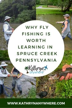 Pheromone und Fliegenfischen in Spruce Creek Pennsylvania Fly Fishing Girls, Deep Sea Fishing, Going Fishing, Best Fishing, Ice Fishing, Fishing Rod, Fishing Vest, Women Fishing, Fishing Reels