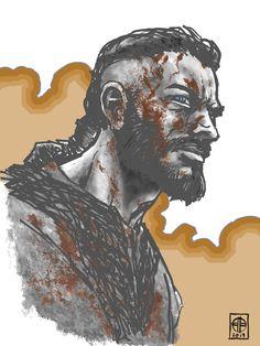 Vikings by BrettBarkley on DeviantArt Ragnar Lothbrook, Ragnar Lothbrok Vikings, Character Ideas, Character Design, Assassins Creed Art, Viking Culture, Top Film, Fantasy Drawings, Viking Art