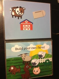 printable quiet book: farm and bible versions
