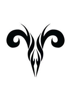 Aries horoscope symbol