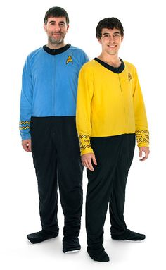 Star Trek Uniform Footie Union Suit