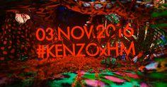 H&Mの次のデザイナーズコラボはケンゾーKENZOに決定11月3日発売