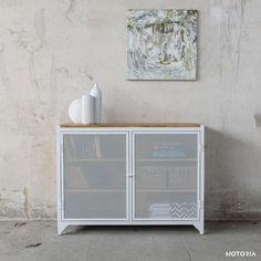 CLOVER Kommode / Sideboard / Weiß / White | NOTORIA