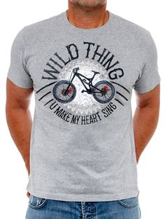 Wild Thing .... you make my heart sing. MTB tee from Cycology.