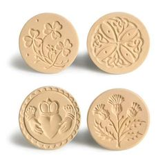 Love these St. Patrick's Day/Irish inspired cookie stamps from King Arthur Flour. Just wish they offered a special price on all four.