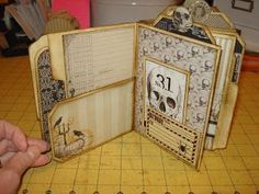 A Creative Operation..follow link to myserenity crafts for tutorial on structure...***
