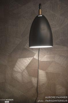Appartement 30 m2 coeur de Paris, Parisd'intérieur - Côté Maison Lamp, Decor, Home Decor, Lighting