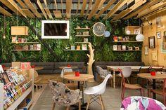 9 ¾ Bookstore + Cafè, Medellín, Colombia, 2015 - Plasma Nodo