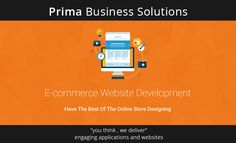 Create an attractive, fully functional web store and let it grow rapidly with top-notch quality, all-inclusive e-commerce web applications Contact Us: http://primabusinessuk.com/web-application-development.html