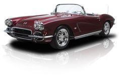 Frame Off Built Pro Touring 1962 Chevrolet Corvette Roadster with a twisting Chevrolet Corvette, Chevy, Classic Trucks, Classic Cars, Muscle Cars For Sale, Corvette Convertible, Cool Cars, Dream Cars, Super Cars