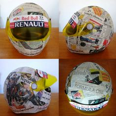 newspaper helmet :)