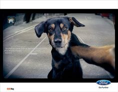Ford - Rear View Camera (very strong, emotionally speaking: if you can see through the rear camera of your car, what's behind you, you can save lives...!)