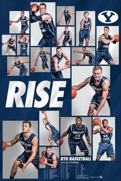 Milestones of College Basketball. Basketball is a favorite pastime of kids and adults alike. American kids develop up with dreams of earning scholarships and reaching fame in the col Byu Basketball, Basketball Academy, Basketball Schedule, Basketball Posters, Basketball Pictures, Basketball Uniforms, Byu Sports, Houston Basketball, Sports Posters