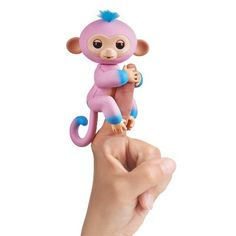 Fingerlings Monkey Pink Glitter Strong Resistance To Heat And Hard Wearing Other Interactive Toys