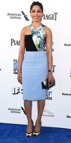 Film Independent Spirit Awards 2016: All the Best Red Carpet Looks - Freida Pinto - from InStyle.com