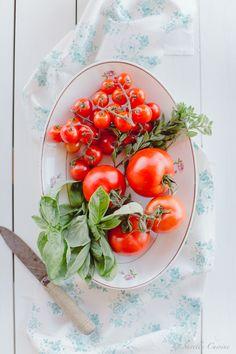 Roasted Tomate and fresh mozzarella soup * Sopa de tomate assado e mozzarella fresca  suvellecuisine.com