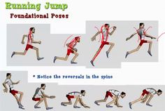 Basic Jumping and Spine Reversal Animation - Computer Graphics