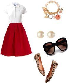 """""""preppy and cute"""" by cvmpe ❤ liked on Polyvore"""